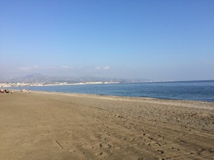 Torre Del Mar in December
